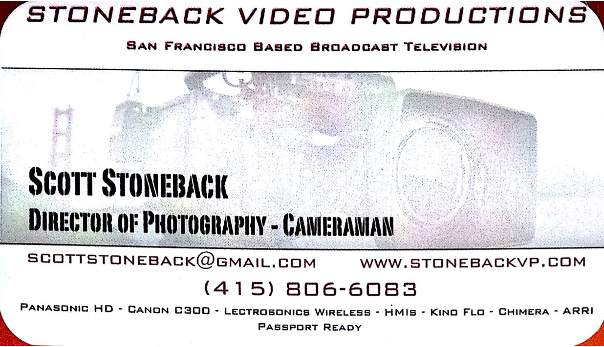 Stoneback Video Productions